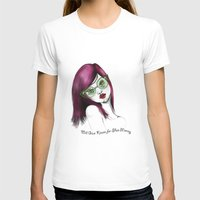 Will Give Kisses for Shoe Money Womens Fitted Tee White SMALL