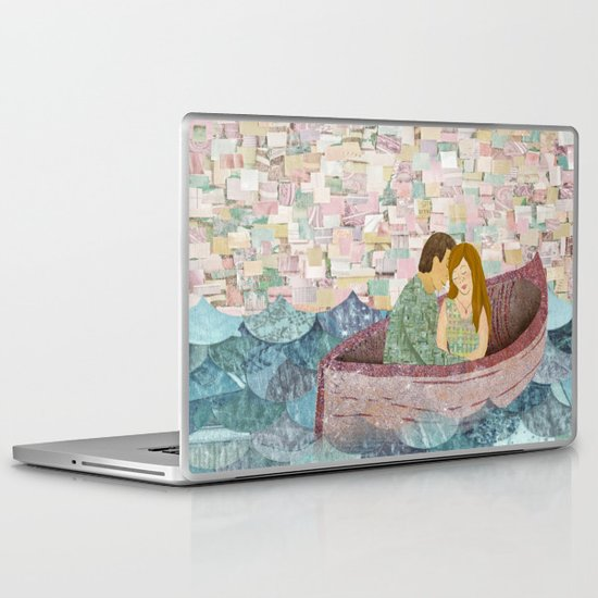 and they lived happily ever after Laptop & iPad Skin