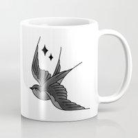 Swallow Tattoo Mug