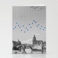 La Lluvia En Bilbao Es U… Stationery Cards