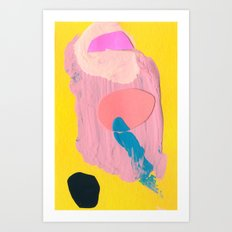 Tiny Nine  Art Print