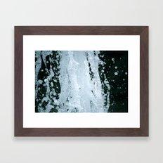 Winter Water Framed Art Print