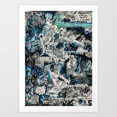 Blueprint Art Print