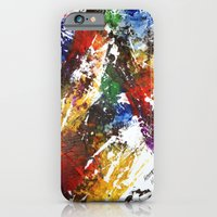 iPhone & iPod Case featuring Artistic accidental print by Eternal