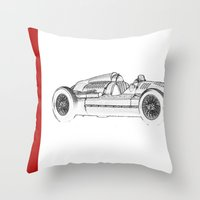 RennSport Speed Series: The Four Rings Throw Pillow