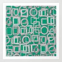 Picture Frames Aplenty G… Art Print