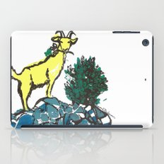 Goatie McGoatersons (colored version) iPad Case