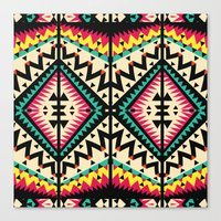 Tribal Canvas Print