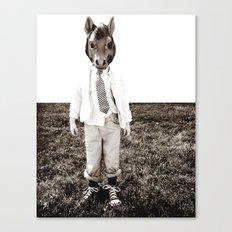 Portrait of a Boy Canvas Print