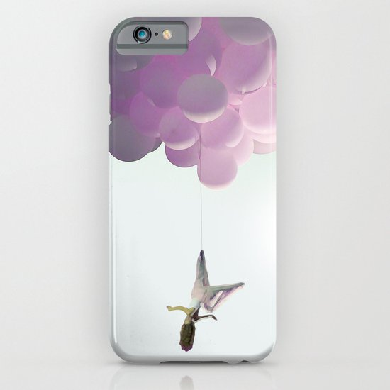 by a thread_ ballon girl iPhone & iPod Case