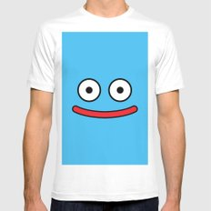 Dragon Quest's Slime SMALL Mens Fitted Tee White