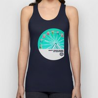 Minty Ferris Wheel Of Ha… Unisex Tank Top