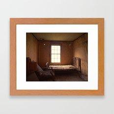 Ghost Bedroom Framed Art Print