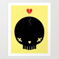 HEART BREAKER - Ed. Fact Art Print