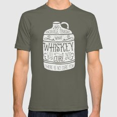 WHISKEY Mens Fitted Tee Lieutenant SMALL