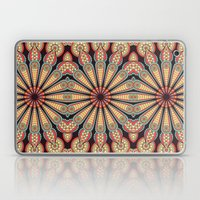 Boho Circle Geometric Pattern Laptop & iPad Skin