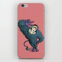 The Wild Lady iPhone & iPod Skin