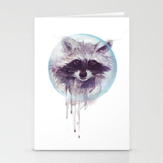 Hello Raccoon! Stationery Card