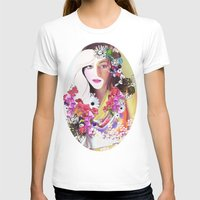 Grace Womens Fitted Tee White SMALL