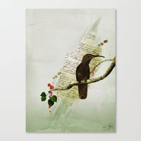Preety Dirty Little Things Canvas Print