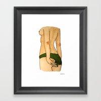 Risky Framed Art Print