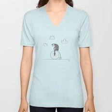 The Happy Ride Unisex V-Neck
