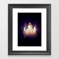 Chandelier I Framed Art Print