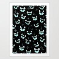 THIEF CAT Art Print