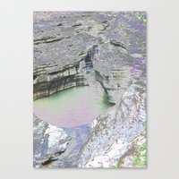 Chromascape 8 (Watkins Glen) Canvas Print