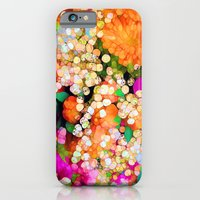 iPhone Cases featuring POP-Sparkles by Joke Vermeer