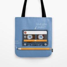 Old School Relationship Tote Bag