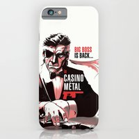 iPhone & iPod Case featuring METAL GEAR: Casino Metal by JoPruDuction Art