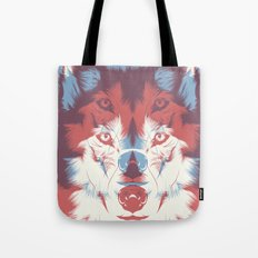 WOLF 3D Tote Bag
