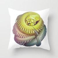 Killipede Throw Pillow