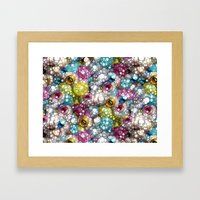 Delicious Colors Framed Art Print