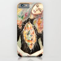 iPhone & iPod Case featuring Beauty is a Million Colors by Veronika Weroni Vajdová
