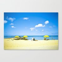 Refreshing Canvas Print