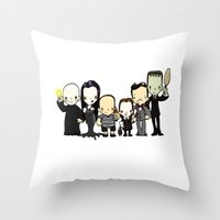 They're Creepy And They'… Throw Pillow