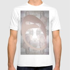 Sexz mask White Mens Fitted Tee SMALL