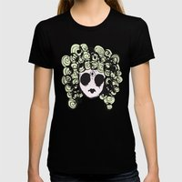 Locks Womens Fitted Tee Black SMALL