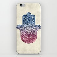 Talk To The Hamsa iPhone & iPod Skin