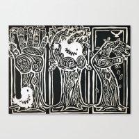Nesting Ground Canvas Print