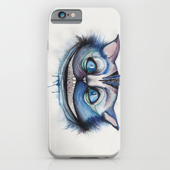 Cheshire Cat Grin - Alice in Wonderland iPhone & iPod Case