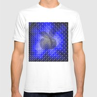 Blue Apple Mens Fitted Tee White SMALL