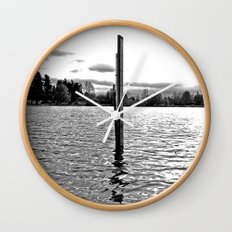 Scenic solitude Wall Clock