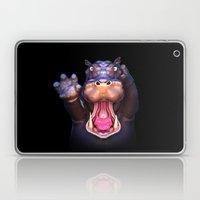 Animal Portraits - Hippopotamus Laptop & iPad Skin