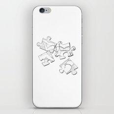 Puzzle Woman iPhone & iPod Skin