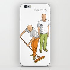 You're doing it all wrong! iPhone & iPod Skin