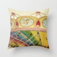 Fly So High Throw Pillow