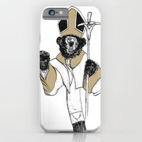 iPhone & iPod Case featuring The Bear Pope by JRSutton